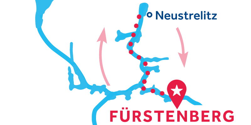 Fürstenberg RETURN via Neustrelitz