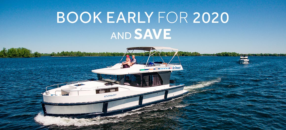 Le Boat - save up to 25% on 2020