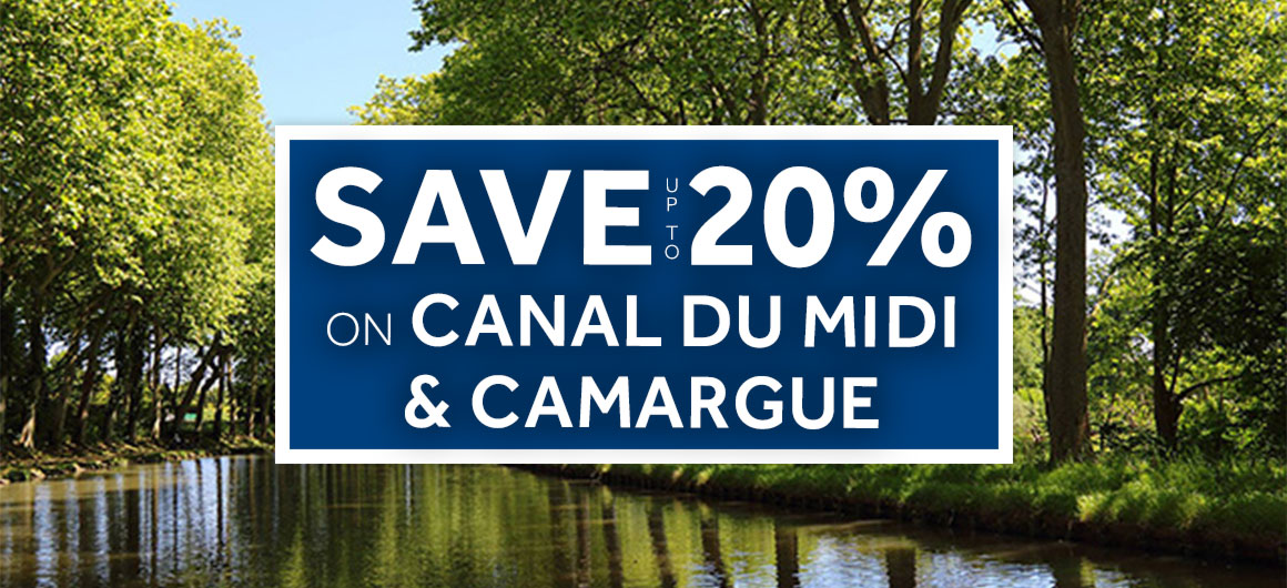 Le Boat - save up to 20% on Canal du Midi