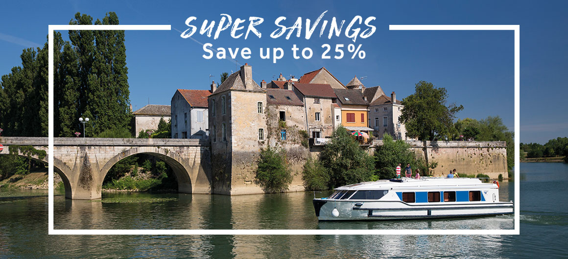 Le Boat - Super Savings save up to 25%