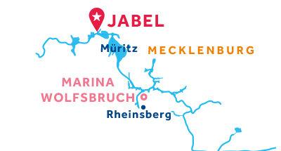 Jabel base location map