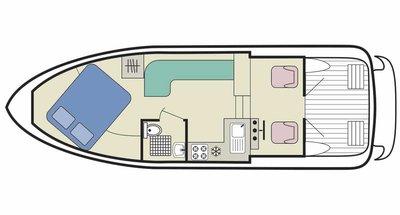 Capri Deckplan