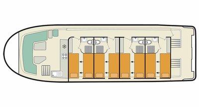 Vision 4 SL Deckplan