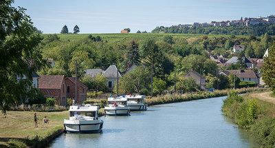 Horizons cruising on the Loire