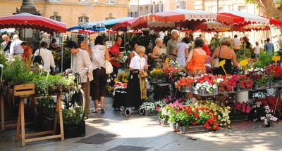Traditional French market