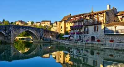 Historic town of Nerac