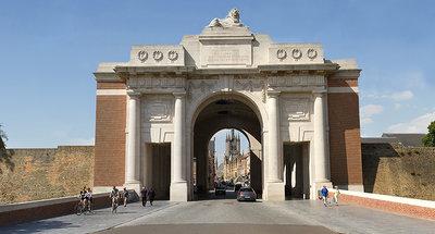 Menin Gate Memorial to the Missing in Ypres