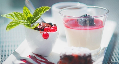 Panacotta from Chateau Les Carrasses