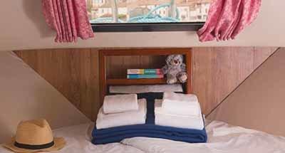 Minuetto 6+ cabins & bathrooms