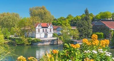 River Charente near Cognac