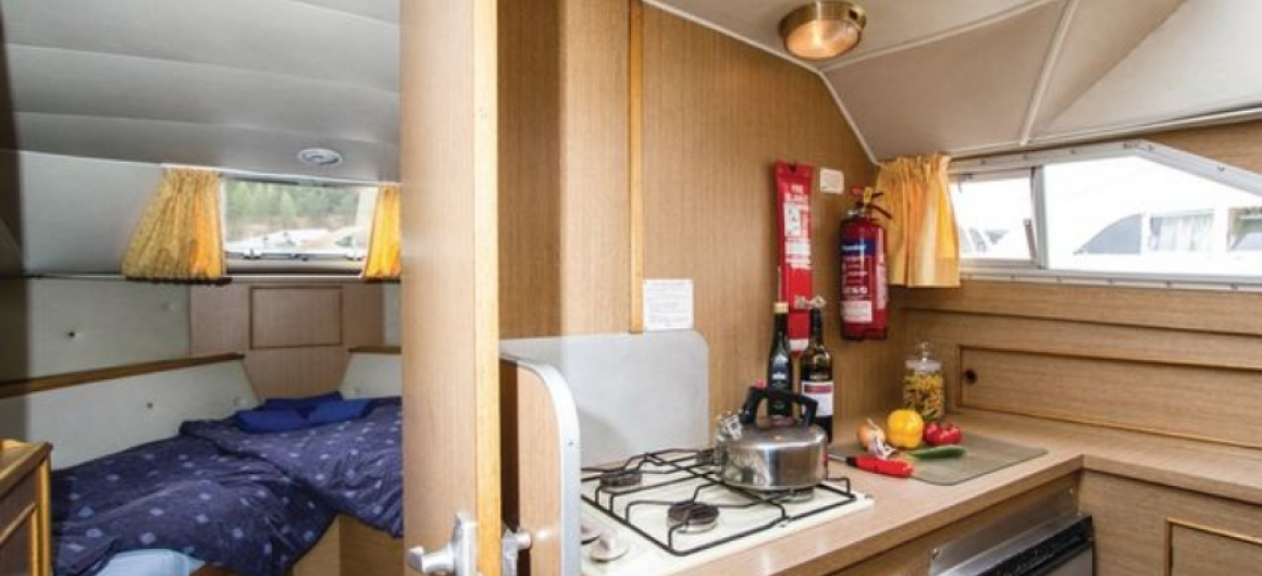 Braemore WHS - kitchen and front cabin