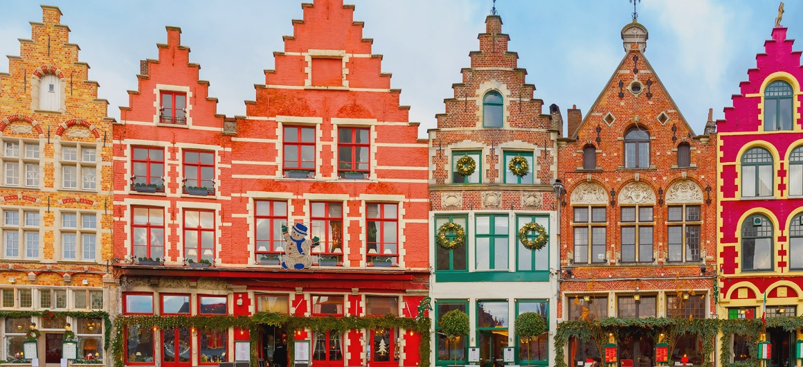 Colourful Bruges