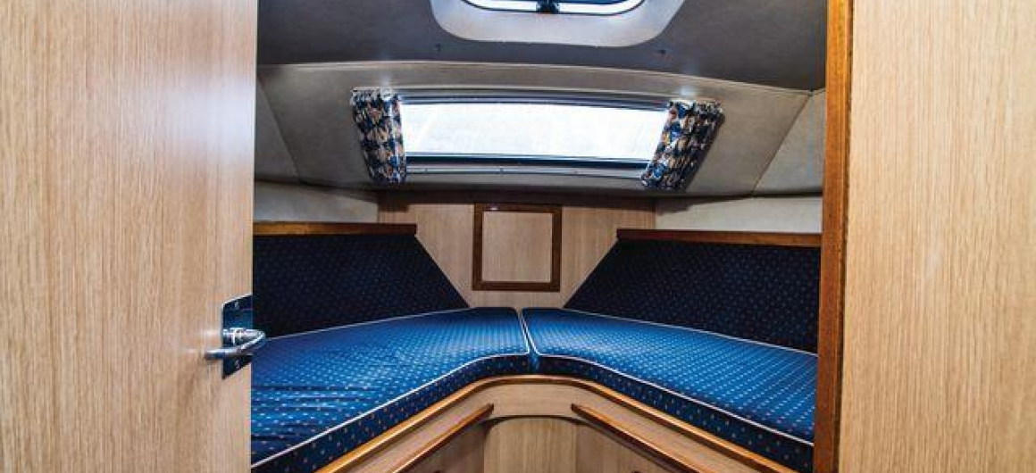 Curlew WHS - forward cabin