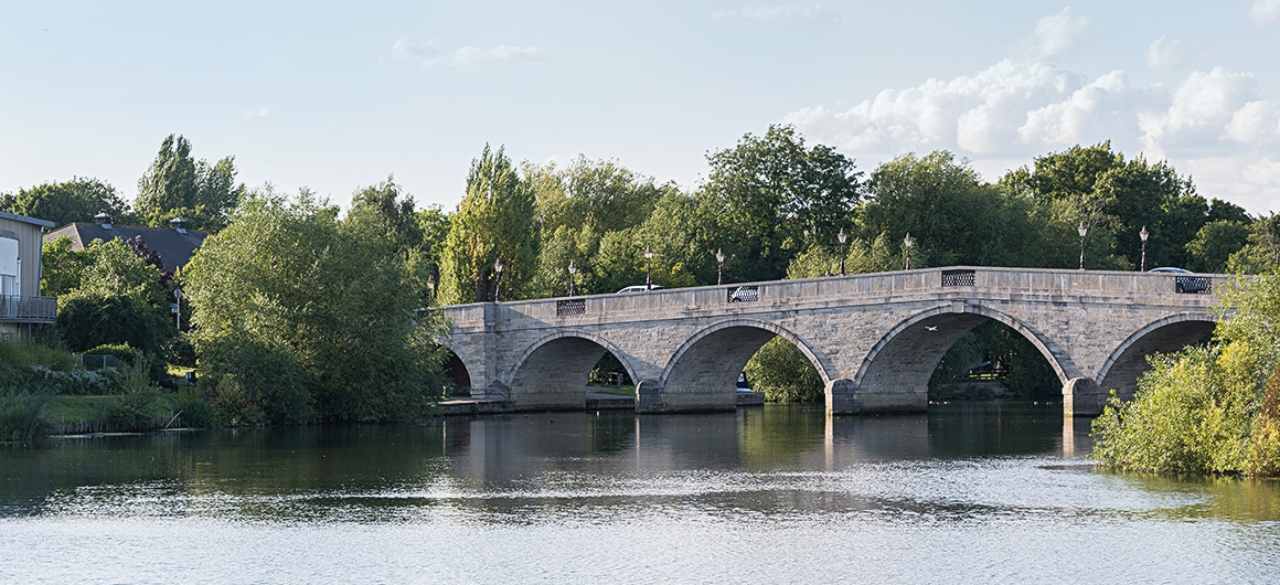 Bridge near Windsor, Thames
