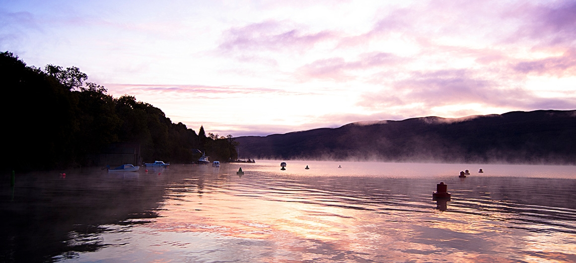 Sunrise in Scotland
