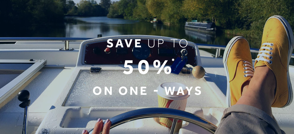 Le Boat - save up to 50% on one-ways