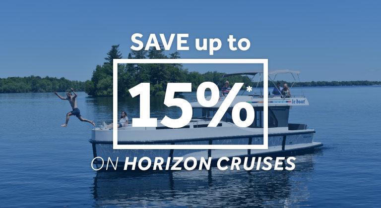 le boat - up to 15% off horizon cruises