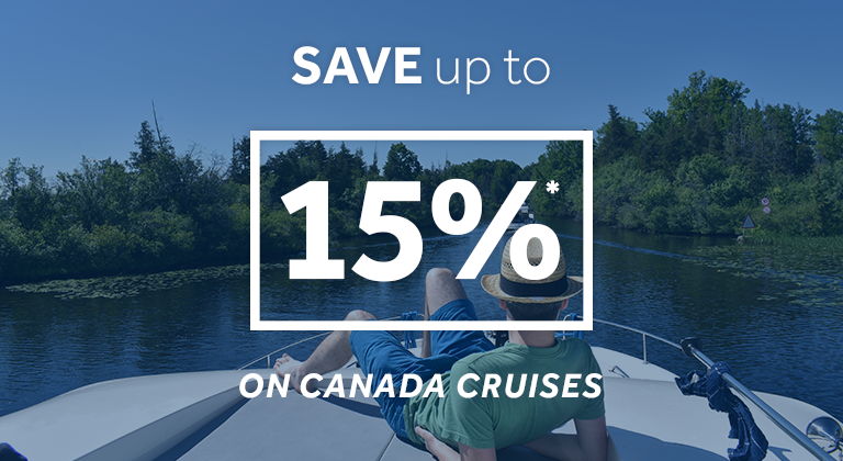 Le Boat - save up to 15% on Canada Cruises