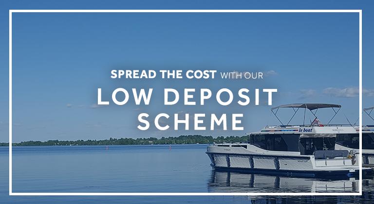 Le Boat - Offers - Low deposit Scheme