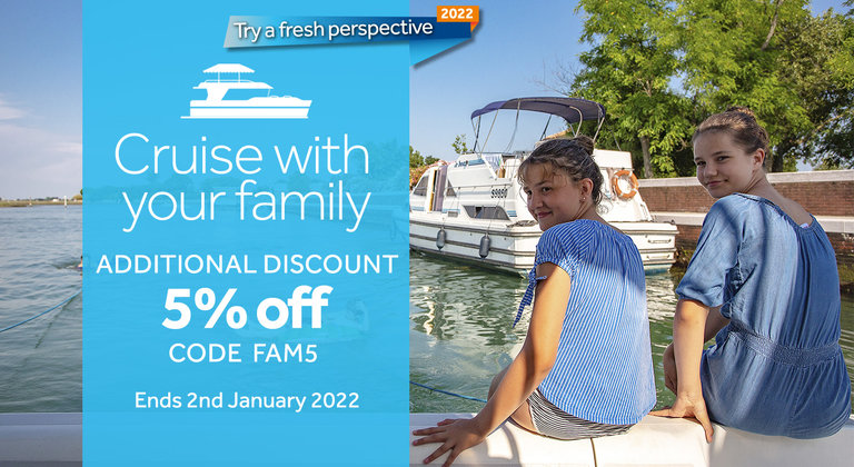 Le Boat - Cruise with your family