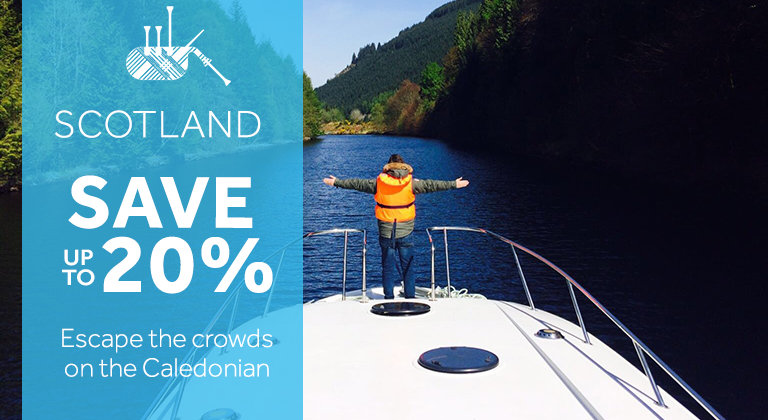 Le Boat - save up to 20% on River Cruises in Scotland