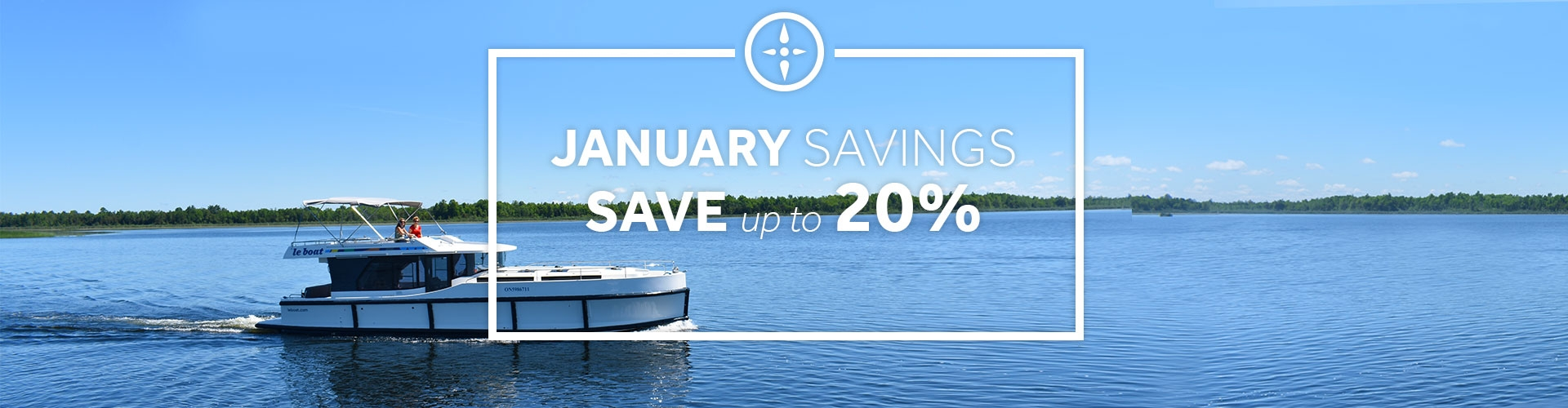 Le Boat - January Savings of up to 20%