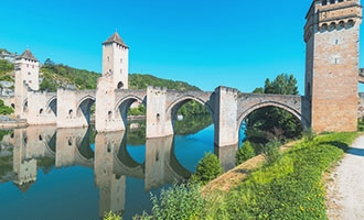 Pont Valentre in Cahors