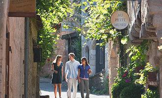 Street in Saint-Cirq-Lapopie