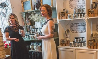 Wick Witch shop in Merrickville